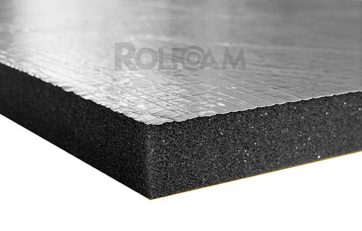 Pianka poliuretanowa z aluminium